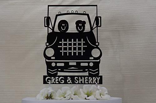 Decoración Para Tarta De Camión Semi Camión Camión Grande