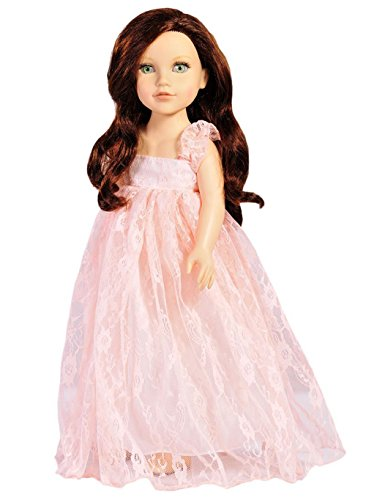 Doll Dress For 18 Inch American Dolls Pi - Doll Pink Dress Shopping Results