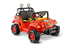 National Products 12V Battery Operated Dual Passenger 4 X 4 Red