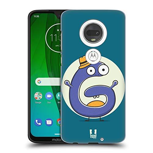 Head Case Designs Sir G Alphabet Monster Hard Back Case for Motorola Moto - Moto Monster G Case