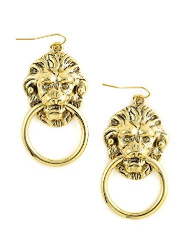Lion Nose - The Vandal Mini Lion Door Knocker Earrings