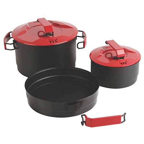 Coleman Rugged 6-Piece Family Cookset (Multi Compact Cookset)