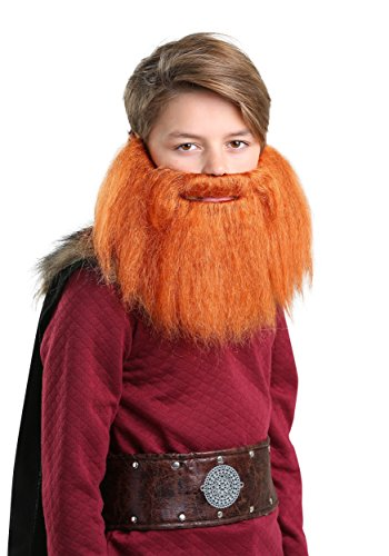 Beard Costume Lumberjack (Child Red Viking Beard)