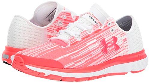 Under Armour Women's Speedform Velociti Graphic, Marathon Red/White/Marathon Red, 10 B(M) US by Under Armour (Image #6)