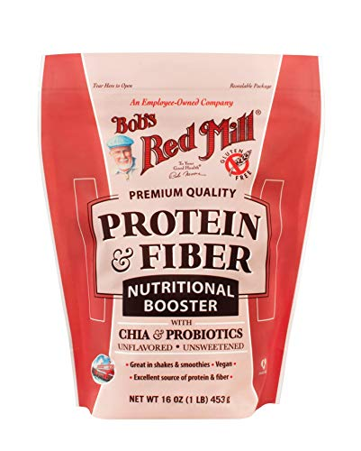 Bob's Red Mill Protein & Fiber Nutritional Booster, 16-ounce (Package May Vary)