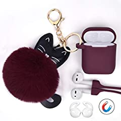 ➤ The AIRSPO Airpods Case will keep your $200 Apple AirPods safe from scratching and dropping.  ➤ Best Gift for your Airpods ♥ Adopting professional design for Airpods. ♥ Use charging function with the case.  ♥ Do not slide out of charging ca...