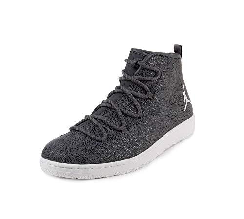 (Nike Jordan Galaxy High Top Sneakers (10, Dark Grey/White))