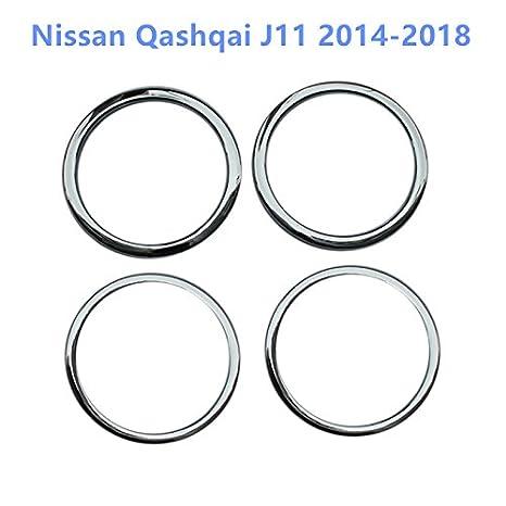 Chromed HIGH FLYING f/ür Qashqai J11 2014-2018 Interieur Tachometer Taste Interieurleisten 1 St/ück ABS Kunststoff