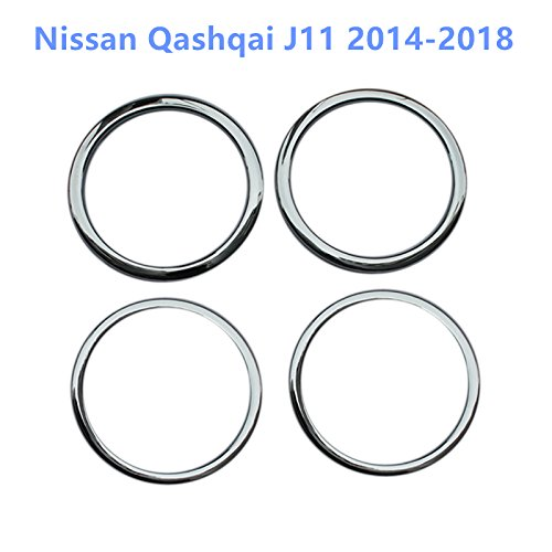 HIGH FLYING per Qashqai J11 2014-2019 interno porta altoparlante interno listelli 4 pezzi ABS plastica