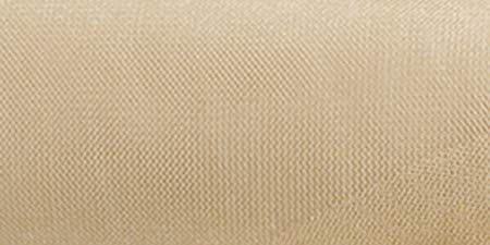 Expo Shiny Tulle Spool of 25-Yard, Light Gold