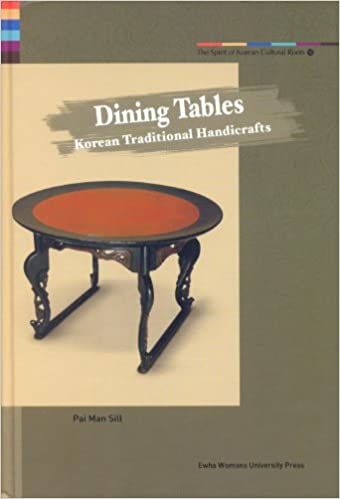 Dining Tables Korean Traditional Handicrafts Man Sill Pai