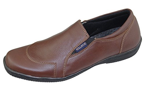 Mens Slip on Casual Boat Deck Mocassin Comfort Walking Loafers Driving Shoes Mild Brown 1nYjQIId4