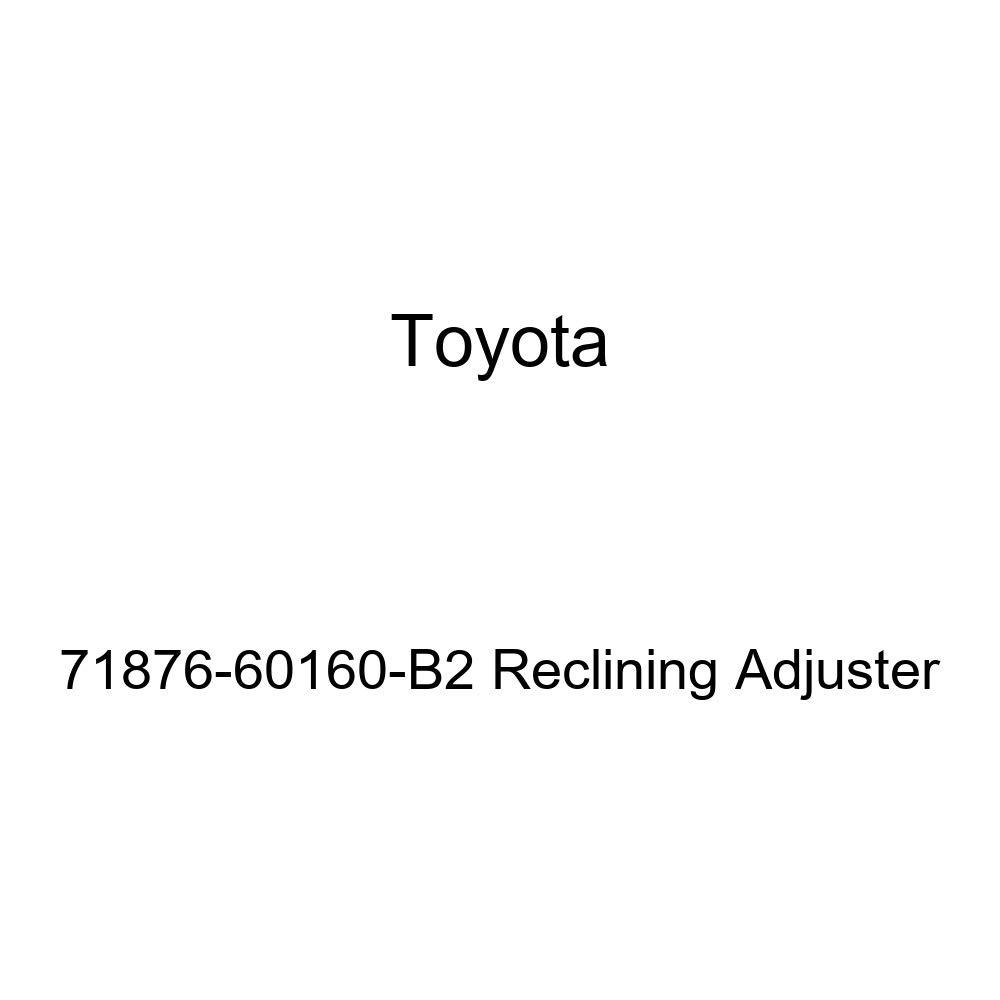 TOYOTA Genuine 71876-60160-B2 Reclining Adjuster