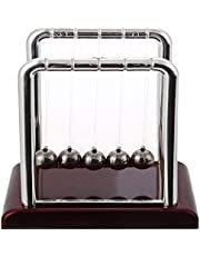 Newtons Cradle Balance Balls Physics Pendulum Science Desk Office Classic Toy