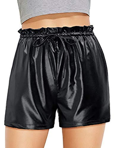 GRACE KARIN Women Boxing Carnival Festival Christmas Costume Shorts (X-Large, Black)