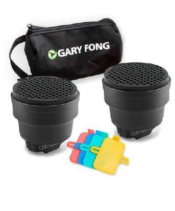 Gary Fong Dramatic Lighting Kit, Includes 2X Speed Snoot, Color Gel Filter Kit and Custom Gear Bag -