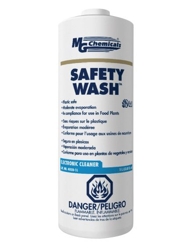 MG Chemicals Safety Wash Electronics Liquid Cleaner, 1 Liter Bottle by MG Chemicals