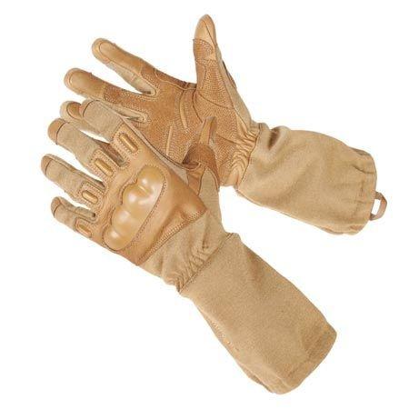 BLACKHAWK! Men's Fury HD Gloves with Kevlar (Coyote Tan, Small)