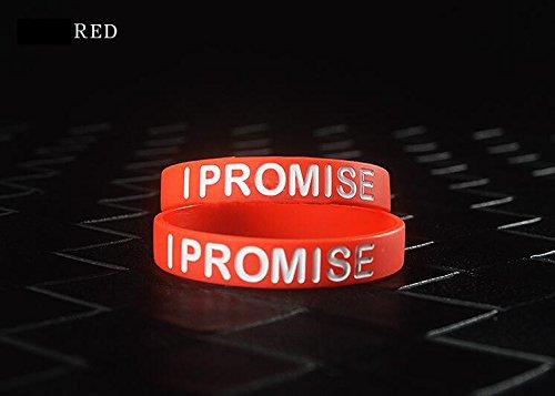 Lorhs store Basketball Star James M/ême Paragraphe I Promise Bracelet Sport Silicone Bracelets 4 Pcs