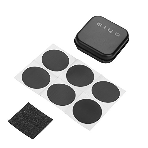 GOTOTOP 6pcs Tire Rubber Self-Adhesive Patch Sandpaper Bike Tyre Repair Tools Bicycle Accessory by GOTOTOP