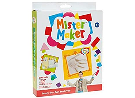 Amazon Mister Maker Create Your Own Hand Print Kit Kids Craft
