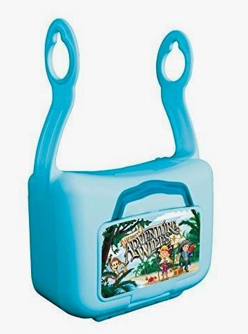 Lil' Booty'S Adventure Wipe Hanging Flushable Wipe Dispenser and 42 Count ()