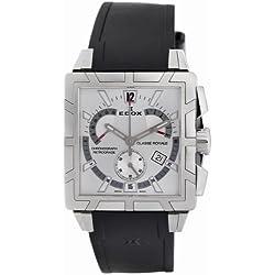 Edox Men's 01504 3 AIN Classe Royale Chronograph Retrograde Watch