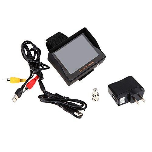 kkmoon 3 5 tft color led portable test monitor cctv camera security tester for surveillance. Black Bedroom Furniture Sets. Home Design Ideas