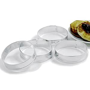 Norpro 3775 Muffin Rings, Set of 4
