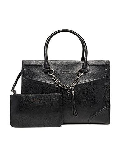 REPLAY Fw3695.000.a0283 - cartella Donna, Schwarz (Black), 13x28x37 cm (B x H T)