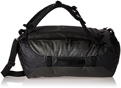Osprey Packs Transporter 65 Expedition Duffel, Black, One Size by Osprey
