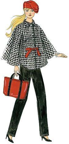 McCalls 6258/Crafts Patron de Couture V/êtements pour poup/ée Tailles Taille Unique