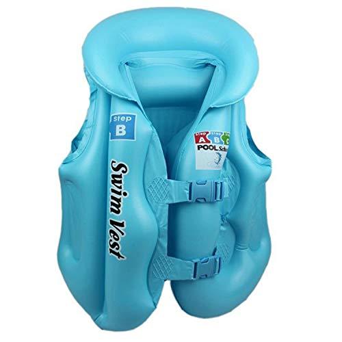 Diseño de Moda Niños Niños Piscina Inflable Flotador Chaleco Salvavidas Chaleco Colorido Bebé Niños Natación A la...