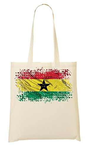 Ghana Africa Accra Country Series Nationality Flag Nice To Sac Fourre-tout Sac à provisions