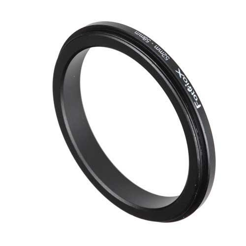 Fotodiox 52-58mm Macro Close-up Reverse Ring for Nikon, Canon, Sony, Olympus, Pentax, Panasonic and Samsung Camera