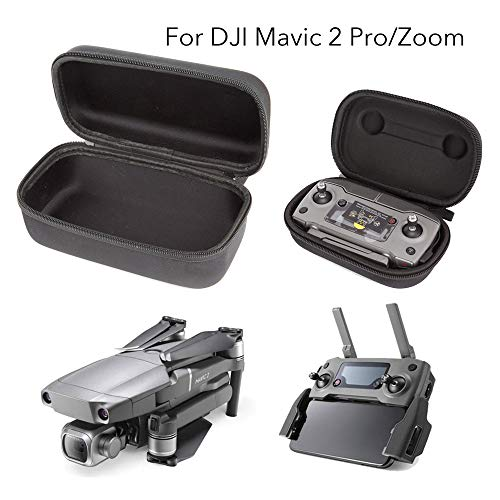 Carrying Case DJI Mavic 2 Pro/Zoom, Foldable Drone Body Remote Controller Transmitter Bag Accessory