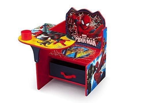 Delta Children Chair Desk With Storage, Marvel Spider-Man by Delta Children