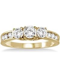 """SIZE-7 10K WHITE GOLD SAPPHIRE AND DIAMOND /""""XO/"""" BAND"""