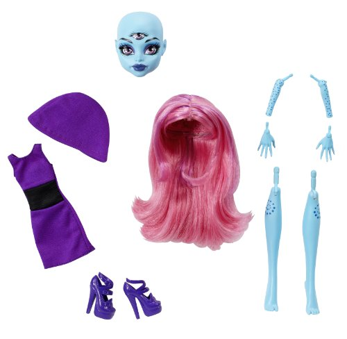 Monster High Create-A-Monster 3-Eyed Girl Add-On Accessory Parts (Monster High Customs)