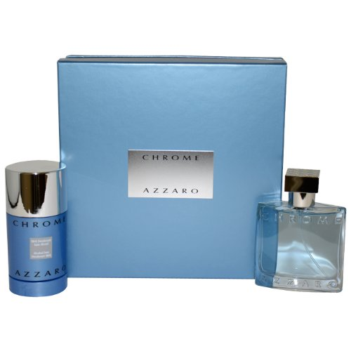 AZZARO - Chrome For Men Gift Set (EDT+Deodorant)
