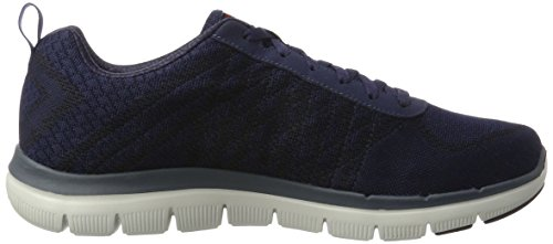 Ginnastica 2 Uomo Blue Scarpe Point Nvrd da Flex 0 Advantage nbsp;Golden Skechers zp8n7wB