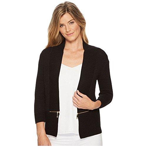 (イヴァンカ トランプ) Ivanka Trump レディース トップス カーディガン Open Fly-A-Way Zipper Cardigan Sweater [並行輸入品]