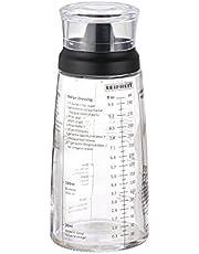 Leifheit Salad Dressing Shaker Bottle, Black