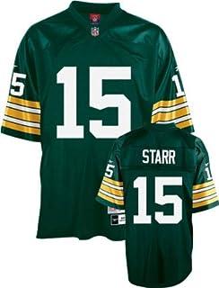 e11eff85 Amazon.com : Green Bay Packers Mitchell & Ness 1969 Bart Starr #15 ...