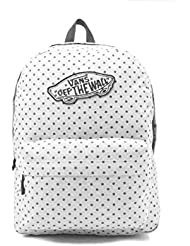 Vans Realm Popes Vanilla Polka Dot Backpack