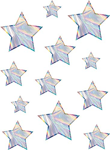 (Iridescent Stars Accents - Assorted Sizes)