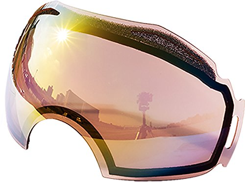 Replacement Lenses For Oakley Airbrake Snow Goggle Pink - 5 Oakley Lenses Replacement