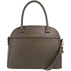 Christian Siriano For Payless Women's Olive Green Women's Jessa Dome Satchel One Size