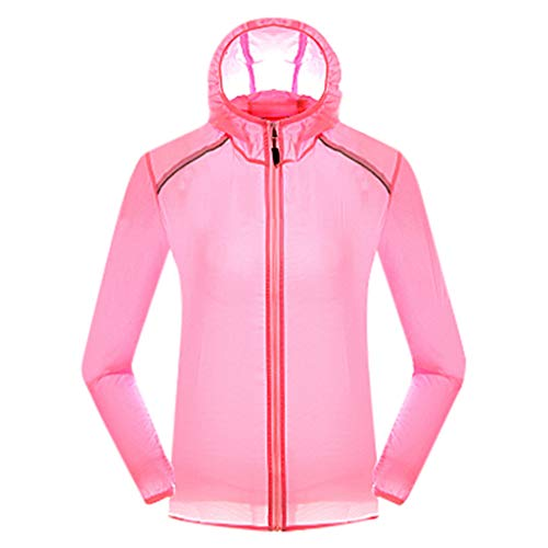 (Outdoor Windproof Jacket Bicycle Sports Quick Dry Windbreaker Coat Top Sky Blue,Orange,Blue,Green,Yellow,Pink Hooded)