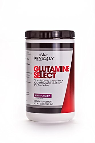 Beverly International Glutamine Select Plus BCAAs Powder, 60 Servings. Just when you think you can't recover any faster (Beverly International Nutrition Supplements)